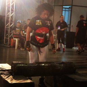 » Mirela Cruz enfrentou muito peso para conquistar o segundo lugar